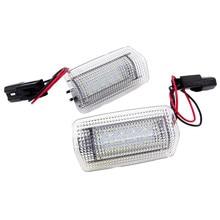 2 pçs luz da porta do carro 12v led para toyota camry 40 50 55 70 land cruiser 200 prado 150 corolla e140 prius 20 30 50 lâmpada de sinal automático
