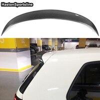 Rear Roof Spoiler Wing For Volkswagen Golf 7 MK7 VII GTI & R Carbon Fiber 2014 2018 OSIR Style(Only GTI R)