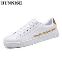 HUNNISE Fashion Men Vulcanize Shoes Casual Men`s Sneakers Summer Student Causal Vulcanize Shoes Men School Casuals Shoes