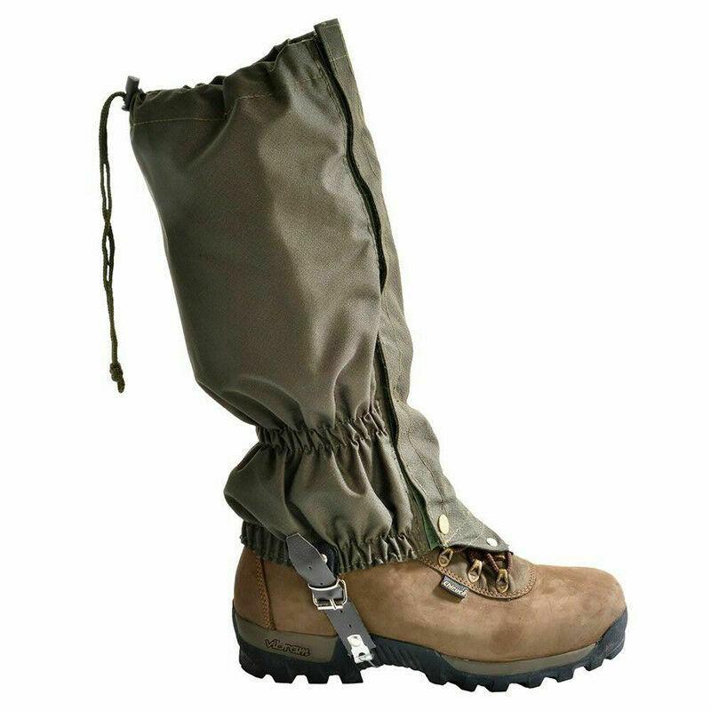 Snow Leg Boot Gaiters Legging Cover Waterproof Anti-abrasion For Hiking Climbing