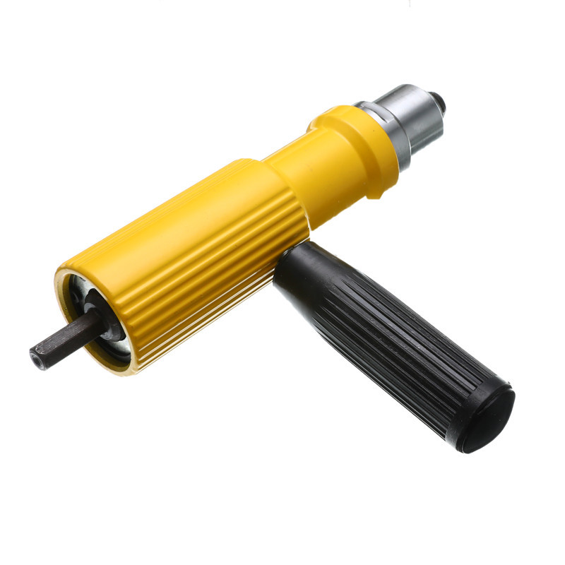 Electric Rivet Nut Gun Riveting Tool 2.4mm-4.8mm Cordless Riveting Drill Adaptor Insert Nut Tool Riveting Drill Adapter
