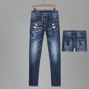 Overseas Authentic NEW DSQUARED2 WOMEn/Man Ripped Jeans COOLGUY Jeans Outwear Men Trousers 9 Orders