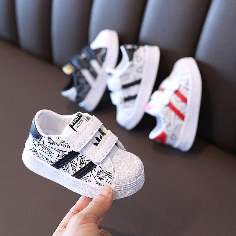 Кроссовки детские дышащие, мягкая Нескользящая спортивная обувь для бега, повседневные, для мальчиков и девочек, размеры 21-30, весна-осень