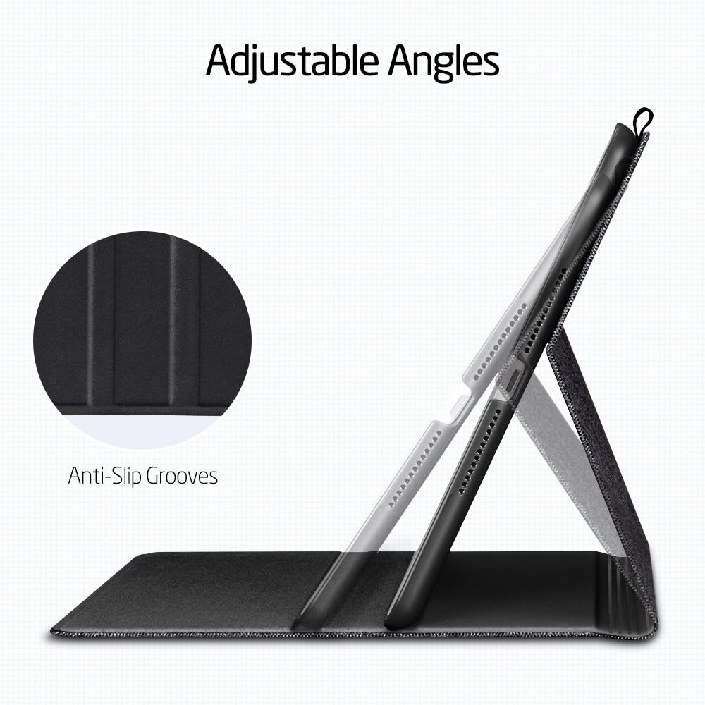 "Image 4 - ESR PU Leather Case for IPad 9.7 2017 2018 mini 5 7th Gen 2019 10.2"" Air 3 Smart Protective Pencil Holder Cover for ipad 10.2Tablets & e-Books Case   -"
