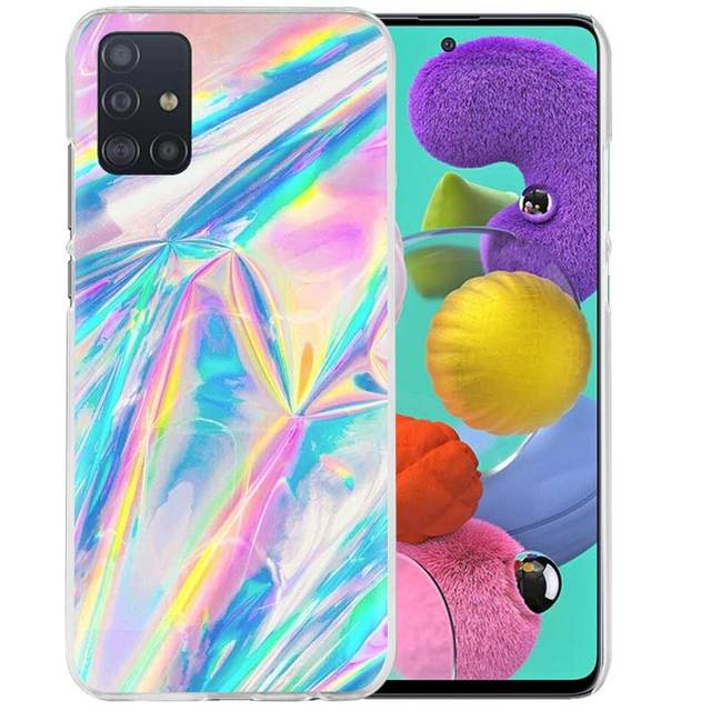 Marble Collage  Print Case for Samsung Galaxy A51 A71 5G M31 M21 A91 A41 A31 A11 M51 M11 S20 A21s Hard PC Cubrir Capas Cas