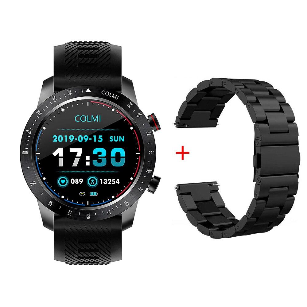 COLMI SKY 6 Smart Watch Men IP68 Waterproof Full Touch Fitness Tracker Tempered glass Smart Clock Blood Pressure Smartwatch