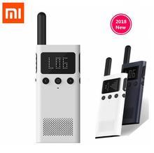 New version Xiaomi Mijia Smart Walkie Talkie 1S With FM Radio Speaker Standby Smart Phone APP Location Share Fast Team Talk