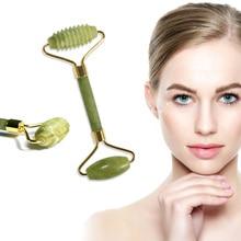 Natural Jade Roller 5 Styles Face Lifting Massager Jade Ston