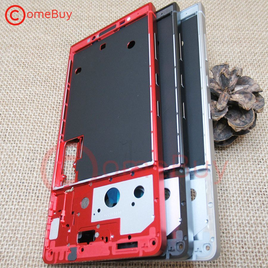 Front Frame For BlackBerry Key2 Middle Frame Housing Screen Supporting Mid Bezel Replacement For BlackBerry Key 2 Front Frame(China)