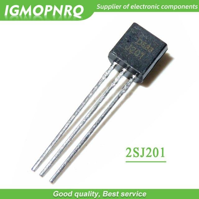 20 unids/lote J201 JFET, Canal N Transistor 50A 40V a-92 Original nuevo envío gratis