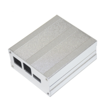 Aluminium koperta ze stopu dla PINE64 ROCK64 płyta demonstracyjna obudowa