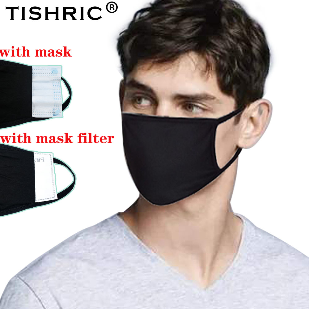TISHRIC Cotton Protection Mask For N95/ffp3/kf94 Mask Activated Carbon Filter Respirator Anti-fog/Dust/HazeMask Disposable Mask