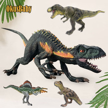 Large Size Solid Dinosaur Toy Set Plastic Toys Dinosaur Model Figures Kids Boy Gift Decoration Tyrannosaurus Simulation Model