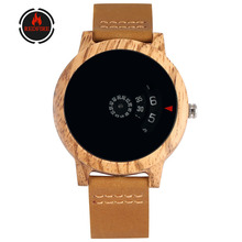 REDFIRE Men's Watch Creative Wood Watches