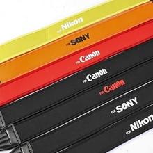 Colorful Photo Camera Strap Cotton Yard Pattern Neck Ethnic Style Strap DSLR Camera Shoulder