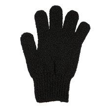 Черный отшелушивающий перчатки все тело скраб мертвые клетки мягкий кожа кровь кровообращение душ ванна спа отшелушивание аксессуары