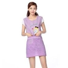 Korean version of apron shoulder fashion kitchen anti-fouling adult vest sleeveless overalls