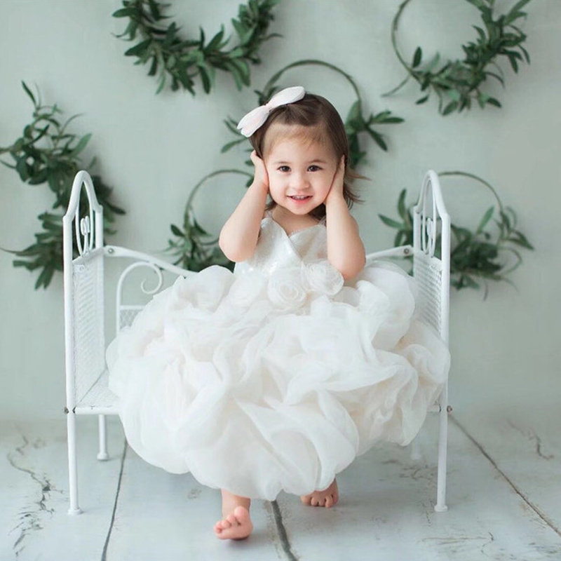 Studio Posing Props Photography Children Bed Baby for Kids Newborn Girls Sofa