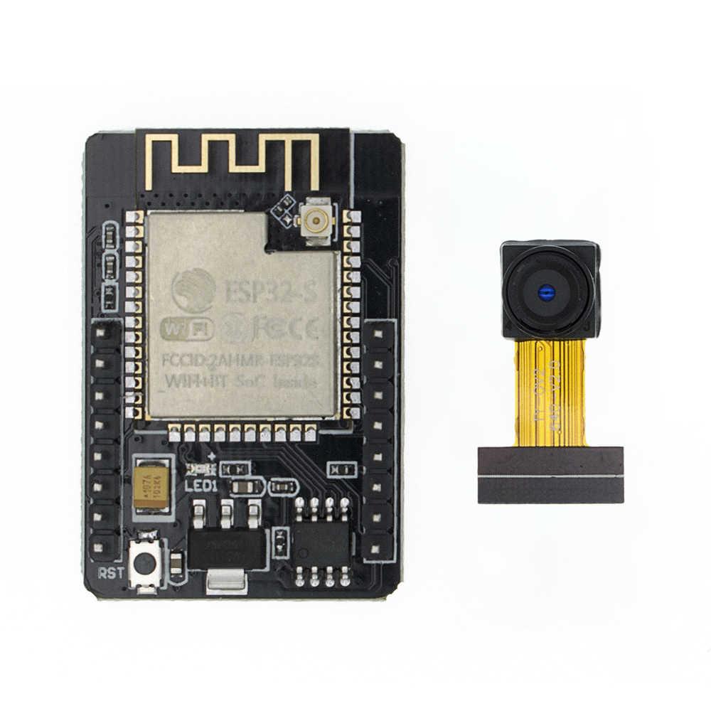 ESP32-CAM ESP32-S wifi bluetooth placa de expansão ov2640 2mp módulo câmera sem fio es8266 esp32s com soquete ipex para arduino mcu
