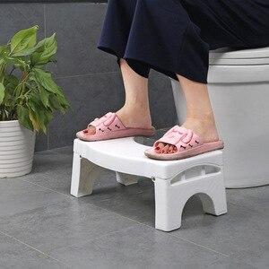 Image 3 - 41x25x17,5 см нескользящий стул для туалета складной детский стул для ног Профессиональный Туалет вспомогательный стул Товары для ванной комнаты