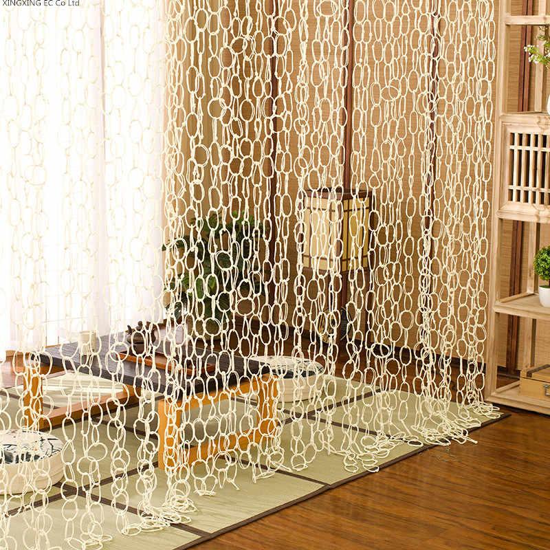 rideaux de separation tisses a la main salon decoration paille rideau suspendu sante protection de l environnement cloison rideau