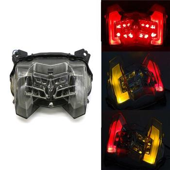 Motorcross Motorcycle Rear Tail Light Brake Turn Signals Integrated LED Light clignotant moto led For Yamaha MT-09 FZ-09 18-19