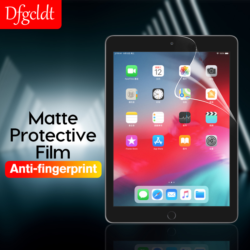Matte Screen Protector For Apple IPad 2 3 4 Air 2 1 Tablet PET Film For IPad Mini 1 2 3 4 5 Anti Glare Frosted Film Not Glass