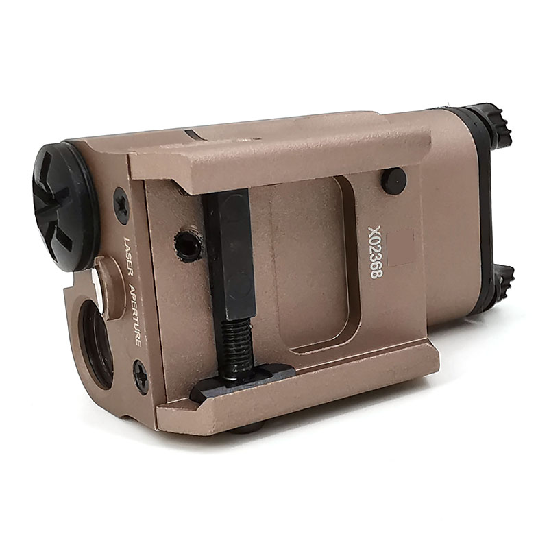 Tactical SF High Red dot Laser Pistol Gun Light Weapon Light Flashlight MINI LED White Hunting Airsoft For GLOCK 20mm-4