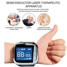 High Blood Pressure Diabetes Cholesterol Rhinitis Treatment Cerebral Thrombosis Medical Device Laser Therapy Wrist Watch medical cold laser therapy device watch treatment rhinitis diabetes hypertension clinical approved