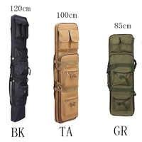 85 100 120cm Hohe Dichte Nylon Jagd Tasche Gewehr Pistole Tasche Fall für Sniper Airsoft Holster Outdoor Schießen Tragbare angeln Taschen