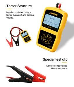 Image 4 - AUTOOL BT360 12V Auto Batterie Tester Digitale Automotive Diagnostic Batterie Tester Analyzer Fahrzeug Ankurbeln Lade Scanner Tool