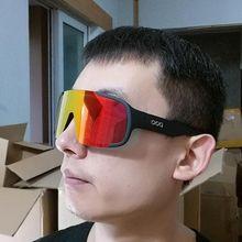 3 Lens POC Aspire Cycling Glasses Sports Sunglasses Women Men MTB Road Bike Eyewear Mountain Bicycle Wind Sand Goggles