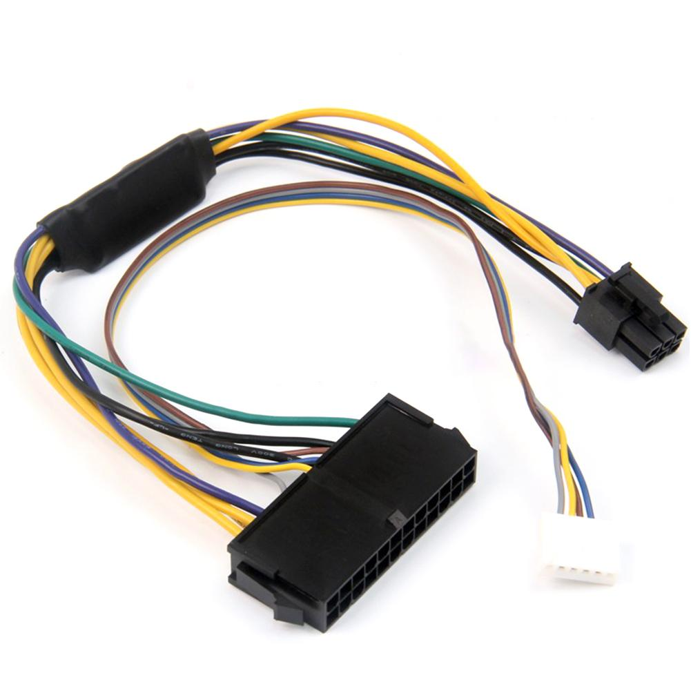 Conversion <font><b>Cable</b></font> Power Adapter For HP Elite 8100 8200 8300 800G1 ATX <font><b>24</b></font>-<font><b>pin</b></font> To 6P High Quality Conversion <font><b>Cable</b></font> For HP Original image