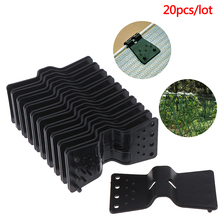 20PC Net Clips Holder Fasten Hang Expand Shade Cloth Greenhouses Shade Net Clips