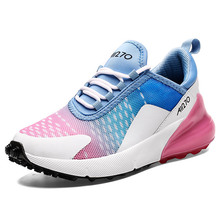 Fashion women sneakers Plus size 12-14 Mixed Colors shoes for girls Platform Soft Breathable sporty woman