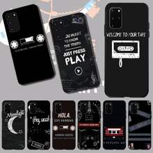 PENGHUWAN 13 Reasons Why Poster Black TPU Soft Rubber Phone Cover for Samsung S20 plus Ultra S6 S7 edge S8 S9 plus S10 5G(China)