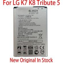 100% Original BL 46ZH For LG Leon Tribute 2 K7 K8 LS675 D213 H340 L33 X210  2125mAh NEW High quality battery
