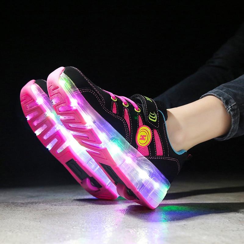 led sapatos para menina tenis criancas 02