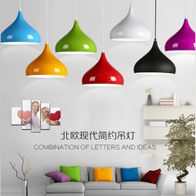 Nordic Aluminum Pendant Lamp LED E27 Creative Living Room Pendant Light Restaurant Hanging Lamp For Home Lighting Pendant Lamps