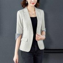 Women's Suit Blazer One Button Blazers C