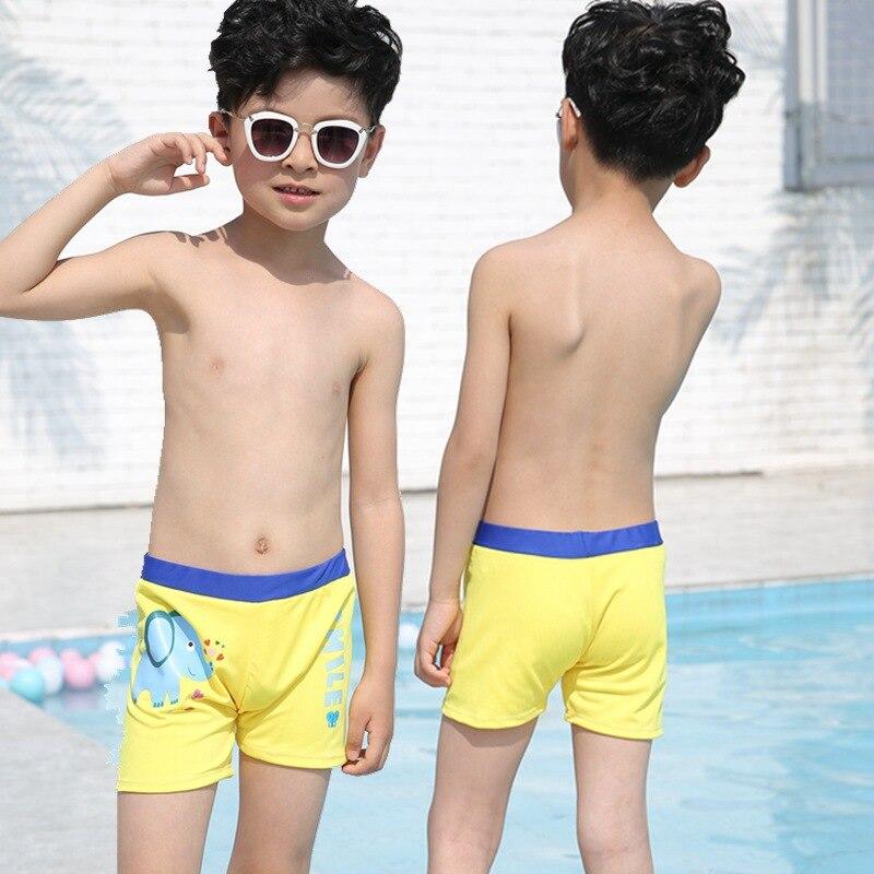 CHILDREN'S Swimming Trunks Swimming Cap Set BOY'S Summer Boxers Swimming Trunks Spider-Man Hot Springs Service Boys' Swimming Tr