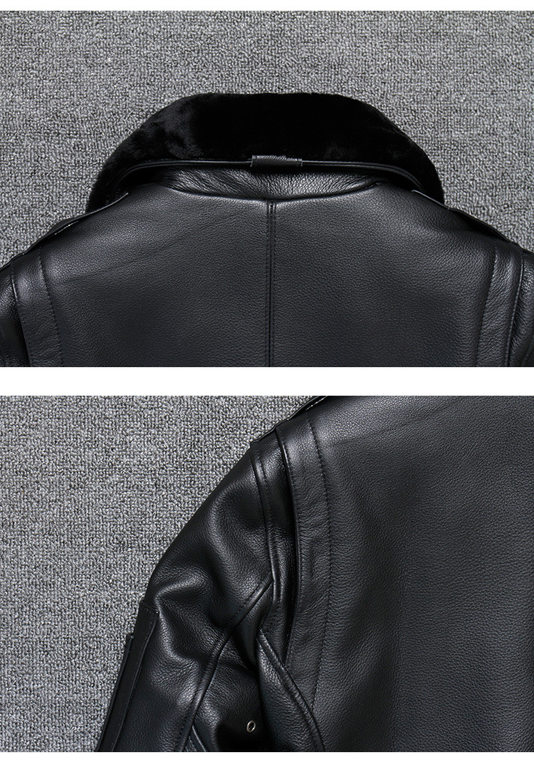 Hf22368406c0349be864d3f38857a07c5I 2019 Vintage Men's G1 Air Force Pilot Jackets Genuine Leather Cowhide Jacket Plus Size 5XL Fur Collar Winter Coat for Male