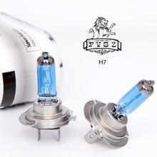 2 шт h7 12v 100w Автомобильные галогенные лампы головного светильник