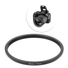 82 мм до 77 мм Металлические Понижающие кольца адаптер для объектива фильтр аксессуары для камеры LX9A