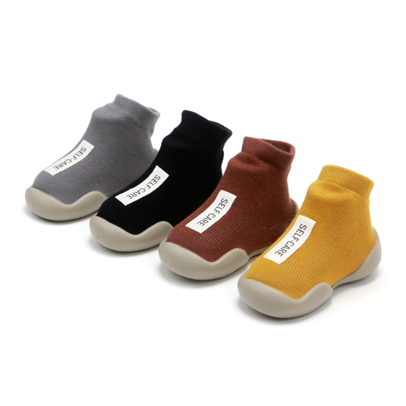Baby Shoes First Shoes Baby Walkers Toddler First Walker Shoes Unisex Soft Rubber Sole Baby Shoe Waterproof Non-slip Shoes