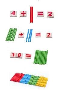 Image 4 - Montessori jouets éducatifs en bois pour enfants, Puzzle pour apprentissage précoce, jeu de comptage de nombres pour enfants, outil denseignement GYH