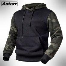 Verde do exército dos homens camuflagem militar hoodies outono inverno com capuz camisolas masculino camo com capuz hip hop streetwear marca topo 4xl