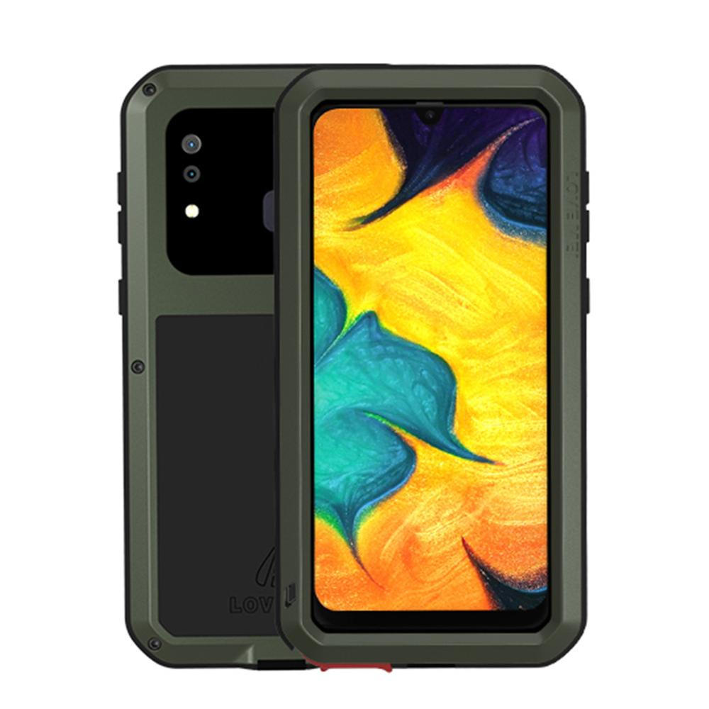 Shockproof Case For Samsung Galaxy A41 A30S A51 A71 A50 A40S Powerful Metal Armor Shock Dirt Proof Water Phone Cases For A50 A70