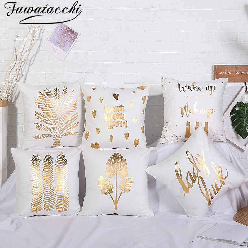 Black And Gold Decorative Pillows  from ae01.alicdn.com