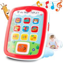 HISTOYE Baby Learning Toys Tablets ,Toddlers Educational Learn to Talk, Sounds and Lights Smart Tablet for Toddlers